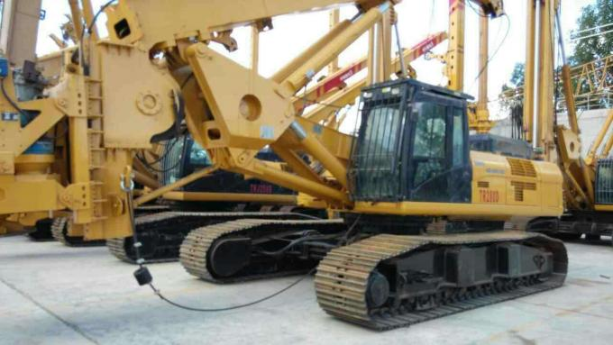 TR280 Rotary Drilling Rig Mounted On Original Cat336D With Max Depth 85m