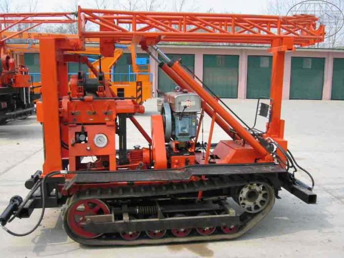 Spindle Type Core Drilling Rig With Reliable Hydraulic System