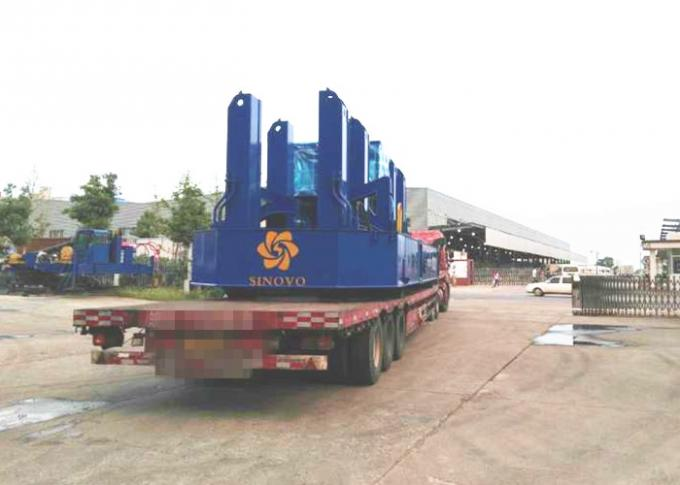 VY Series Hydraulic Static Pile Driver , powerful construction pile driver
