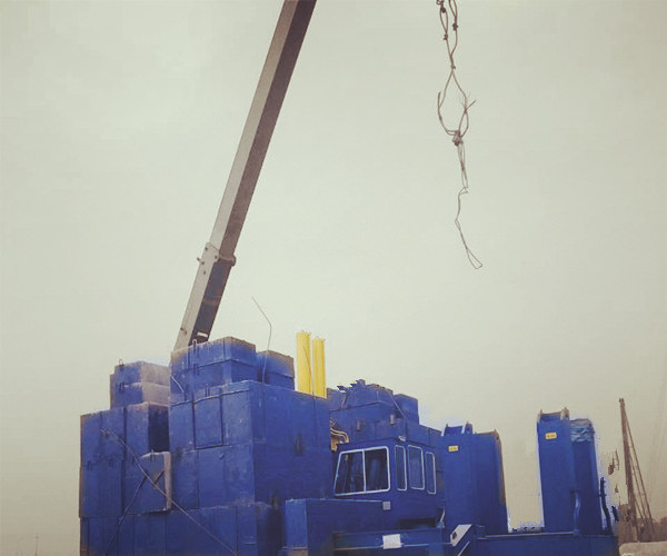 VY700A Hydraulic Static Pile Driver , safety operation pile driving machine