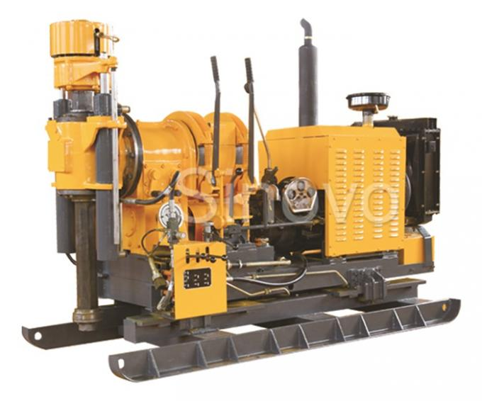 Vertical Shaft Drill Core Drilling Equipment XY-2B / Drilling Rig Machine Drill Depth 300m
