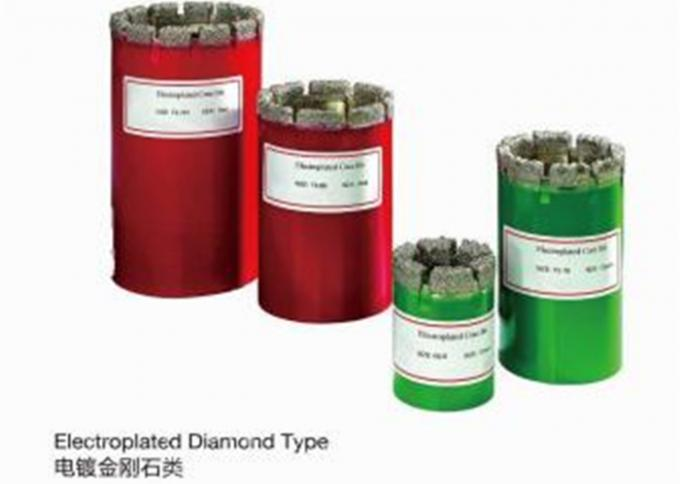 Drilling Tools Diamond Core Drilling Rig Core Bits With CE Certificate