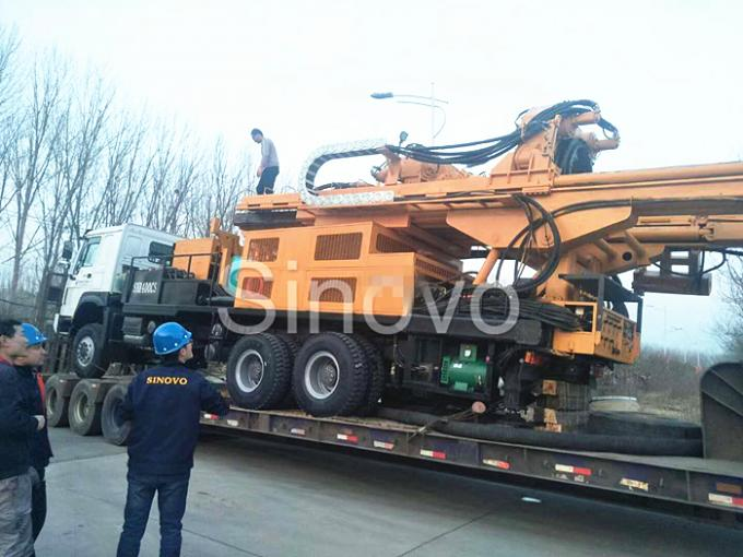 latest company news about Sinovo's another water well drilling rig SNR400CS send to Congo.  1