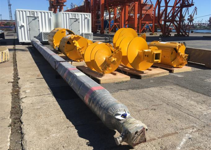 PCL Controller Rotary Drilling Rigs TR180F 6-35 Rpm For Bridge Engineering