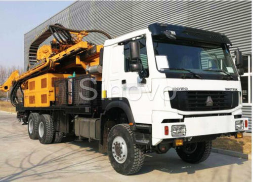 Sinovo's another water well drilling rig SNR400CS send to Congo.