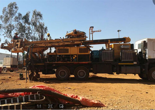 SINOVO SNR400CS double rotary head water well drilling rig export to D.R.Congo