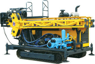 China Full Hydraulic Core Drilling Rig Mounted Trailer Crawler Type supplier