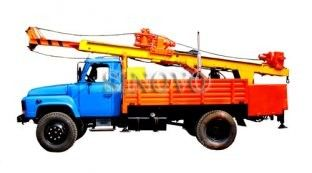 China 40KW / 53.6hp Drilling Capacity 300M Geological Drilling Rig ST-200 Mobile Drilling Rigs supplier
