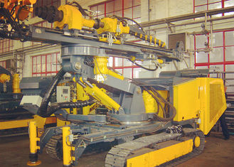 China Hydraulic Crawler Drills Compact Size For Speed Adjusting with  360° in horizontal direction supplier