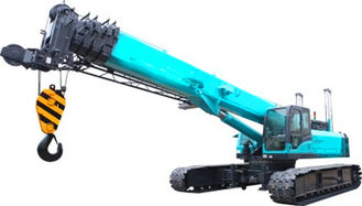 China U Type High duty hydraulic mobile crane with smooth rotation , 11.2m Jib length supplier