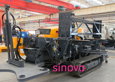 China Cummins Engine Horizontal Directional Drilling Machine Spindle Speed 0 - 76 R/Min supplier