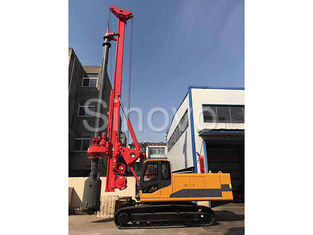 China TR100 Rotary Hydraulic Drilling Rig 100 KN.M Self - Erecting Rig Electronic Control supplier