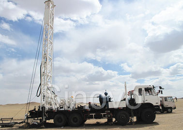 China High Efficient Water Well Drilling Rig with Drilling Depth 200m 100 kw supplier