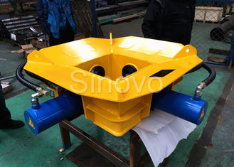 China Fully hydraulic breaker SPF400B suitable for pile diameter 300-400mm can cut 160 pcs in 8 hours supplier