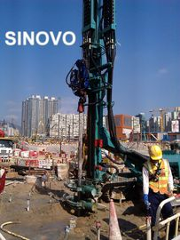 China Safety Hydraulic Crawler Drills For Precipitation Hole And Underground Micro Piles supplier