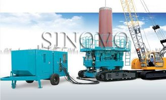 China Powered Hydraulic Casing Rotator No Noise With Cummins Engine supplier