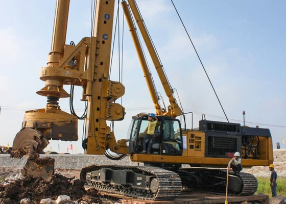 China Rotary Drilling Rigs Rotating Speed 6-23 rpm supplier