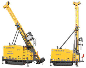China Diesel Engine Full Hydraulic Core Drilling Rig Clamping Diameter 55.5-11705mm supplier