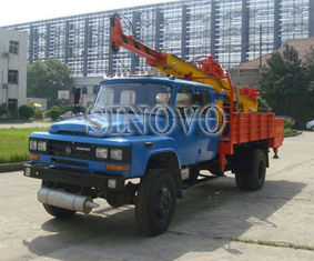 China Mobile drilling rigs ST-600 Drilling Capacity 300M geological drilling rig supplier