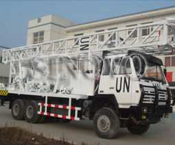 China SNR-1000C Waterwell Drilling Rig Drilling Capacity Aperture 500mm Depth 1000m supplier
