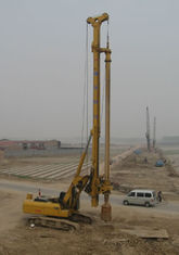 China Rotary Drilling Rigs Engine Model CAT C-7 Rotating Speed 8-29 Rpm supplier