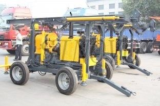 China Core Drilling Rig XY-3B Drilling Capacity 600m supplier