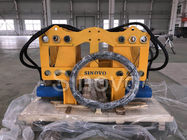 Yellow Hydraulic Pile Breaker AN210 Cut Wall Width 300-800mm Max Rod Pressure 280kN