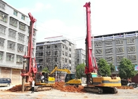 TR100 Rotary Hydraulic Drilling Rig For Foundation Engineering Max Output Torque 100 KN.M