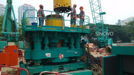 China Silent Durable Casing Rotator No Vibration High Safety Without Mud company