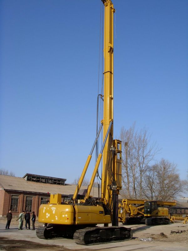 Hydraulic piling rig th60 drilling diameter 300mm