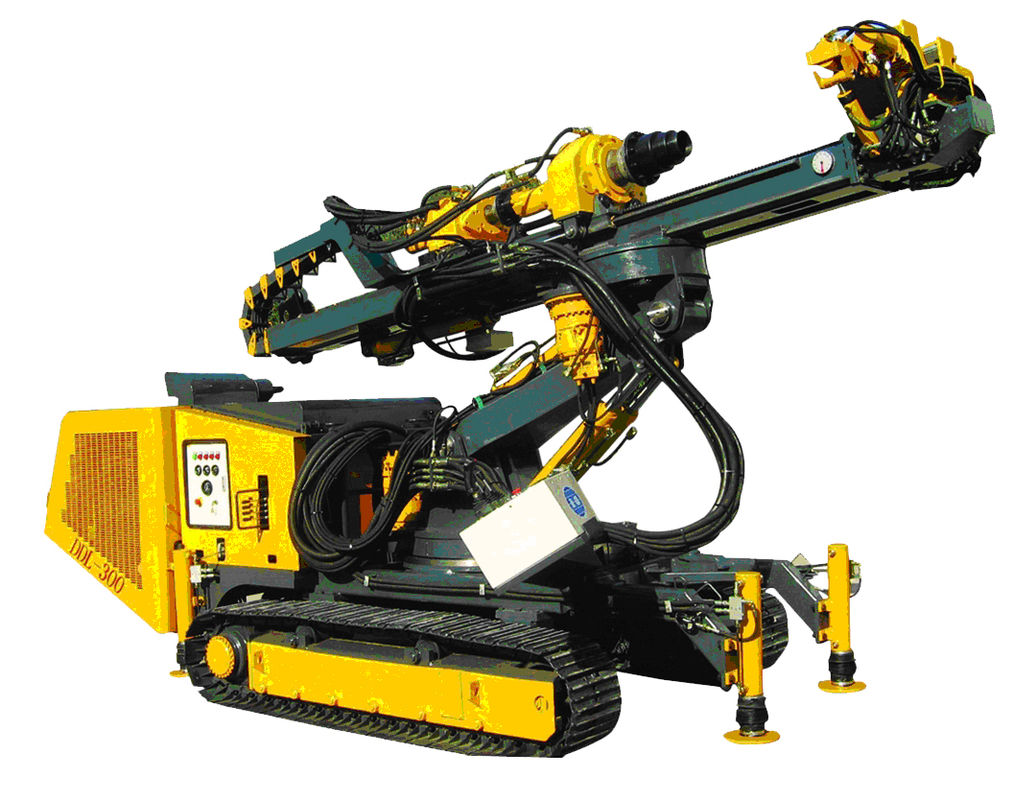 Hydraulic Crawler Drills With High Rotation Speed For