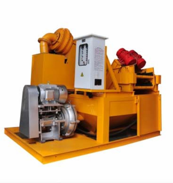 48kw Sand Separator Desander For Mud Purification And Recovery