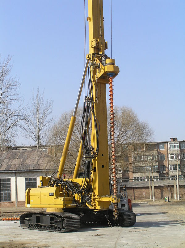 Hydraulic Piling Rig SINOVO TH60 Drilling Diameter 300MM