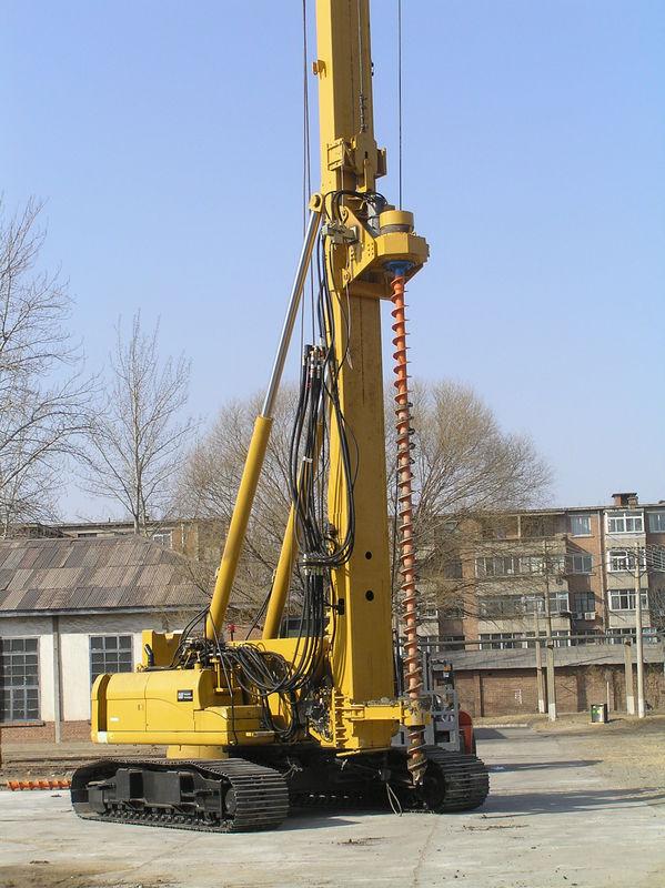 Sinovo th60 drilling diameter 300mm hydraulic piling rig supplier