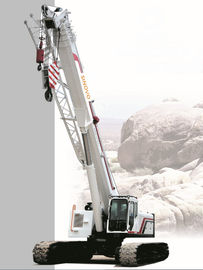 10 Ton High performance hydraulic mobile crane with 80° Max boom hoist angle