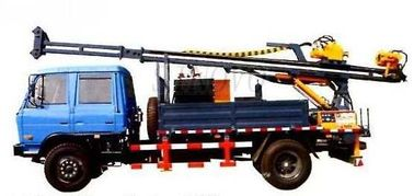 China Full Hydraulic Driving Drilling Equipment SDC-2A Used For Diamond Bit Drilling Mobile Drilling Rigs distributor