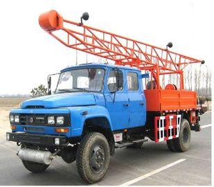Mobile Drilling Rigs Having Hydraulic Pressure High Self-adsorb Ability ST100-3G With Auxiliary Hoisting Device