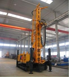 XY-1 Core Crawler Water Well Drilling Rig SNR-350B , Horizontal Rotary Drilling Rig