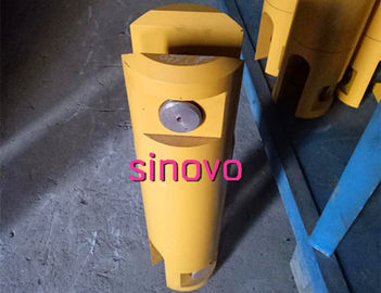 Mining Machinery Drilling Swivel With Pin Yellow Color / Wooden Case Package