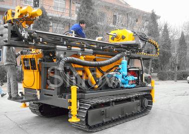 Hydraulic Sinovo Core Drilling Rig Cummins engine  SD-1200 with drill depth 600m and drill diameter114mm