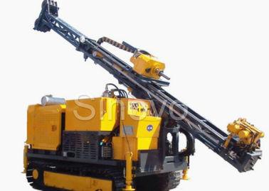 Hydraulic Crawl Diamond Core Drilling Machine , Drilling angle 60° - 90°