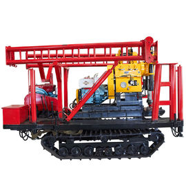 Multifunctional Crawler Mounted Water Well Drilling Rig SNR400C For Engineering Construction