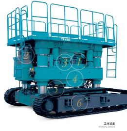 Full Hydraulic Casing Rotator Highly Efficient For Urban Construction Piles