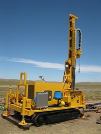 Safe Durable Waterwell Drilling Rig With Full Hydraulic Rotaray Head