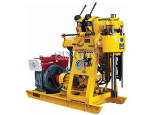 Geological Spindle Type Core Drilling Rig , High Speed Hydraulic System