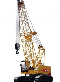 Strong Hoisting Capacity Hydraulic Crawler Crane With High Strength Steel Pipe