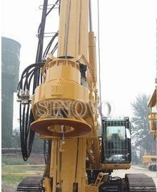 210KN CFA Drilling Equipment 6 - 27rpm Base Type CAT330D TR220W
